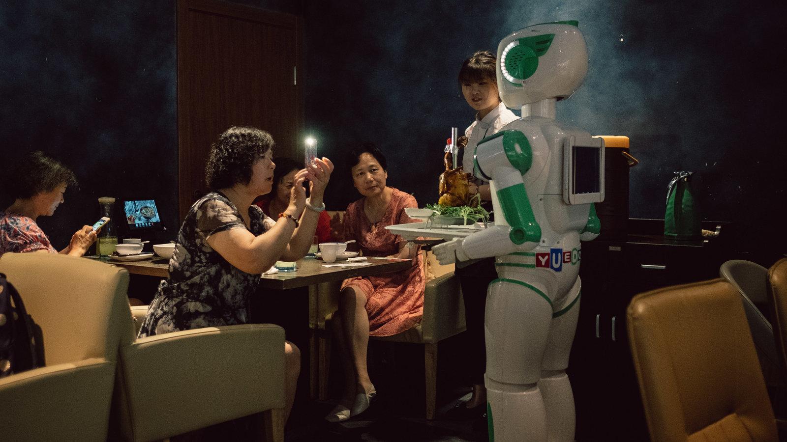 未来没来,但中国已成为机器人的试验场