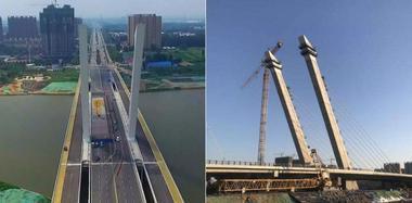 亿元大桥没验收就通车:四个月就大面积破损