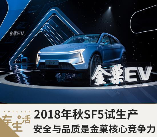 2018年秋SF5试生产 安全与品质是金菓核心竞争力