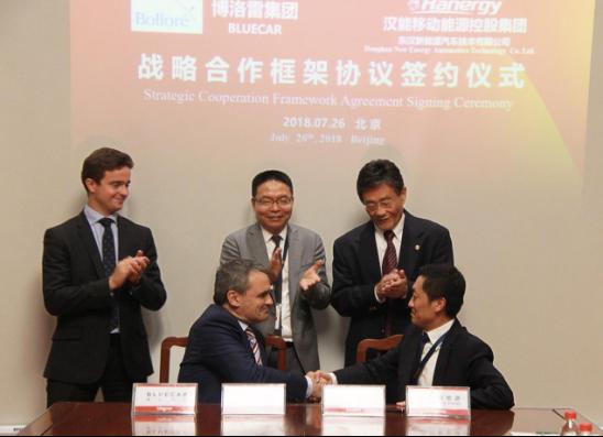汉能携世界500强博洛雷集团打造太阳能电动汽车