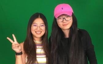 美国加州两位中国女生拍纪录片入围学生奥斯卡