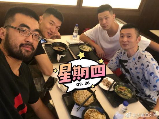 上海队赴台北参加海峡杯 刘炜:回队后第一次出访