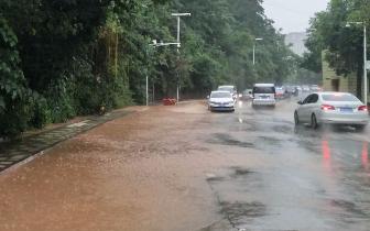 又是一场强降雨 绵阳这些路段谨慎通行