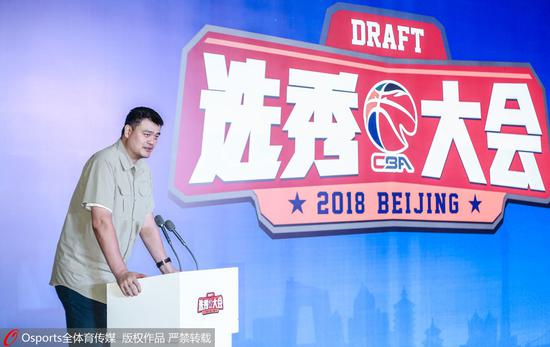 CBA选秀报名满额 无中国香港和中国台北球员参加