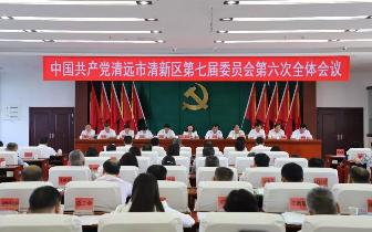 清新区委七届六次全会,释放出哪些重大信息?