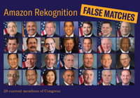 """亚马逊悄悄邀请美国国会""""权衡""""面部识别"""