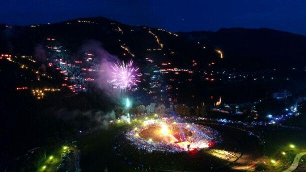 来啊,狂欢啊!凉山彝族火把节8月5日开幕主会场在昭觉县