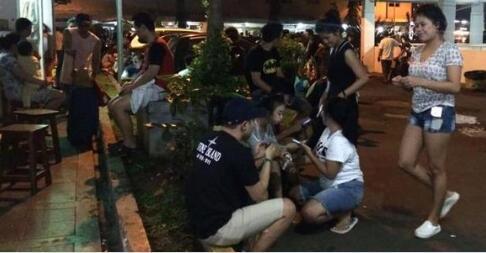 印尼龙目岛6.4级地震已致3人遇难 大量房屋倒塌