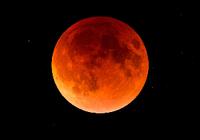 """""""血月""""奇观曾被古人称作不祥 与邪恶、鲜血相联"""