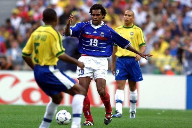 代表法国出征本土世界杯的卡伦布