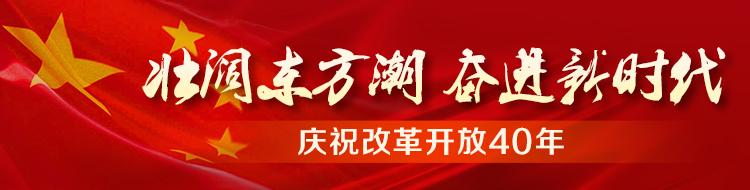 改革开放40年:壮阔东方潮 奋进新时代
