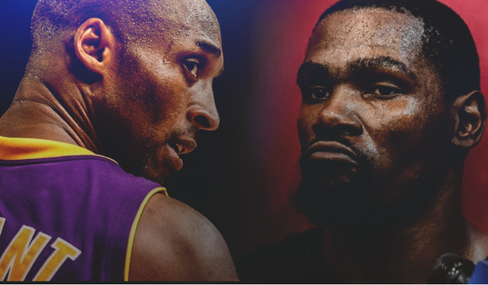 杜兰特排NBA历史总统山:要跟乔丹比先超科比再说