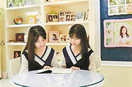 双胞胎姐妹被武大文学院录取 当同学全靠默契