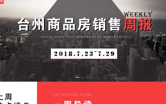 台州楼市周报(7月23日~7月29日):总成交1555套 椒江区位居