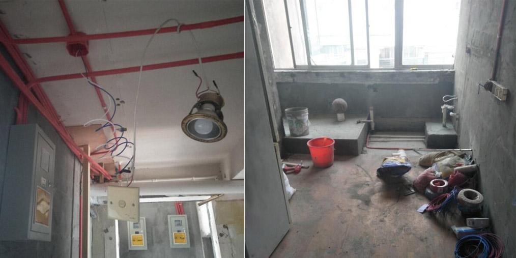 116平米房隔出6个房间 加建6个卫生间