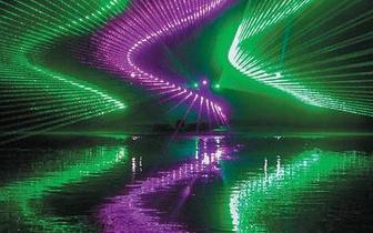 田园灯光秀