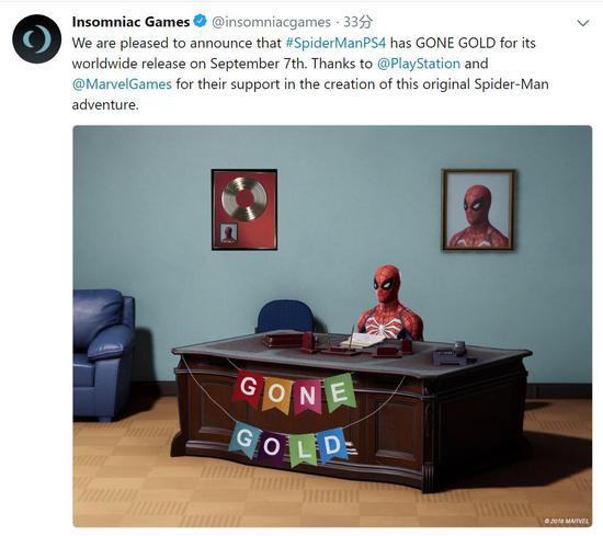 爱玩游戏早报:《漫威蜘蛛侠》开发完成 《传送门2》编剧回归Valve