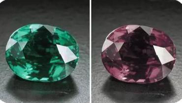 宝石变色效应:现出美仑类换的视觉效果