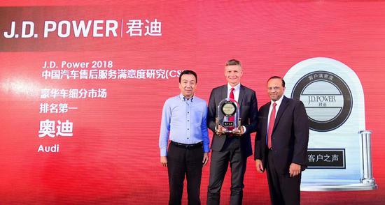 J.D.Power发布2018中国汽车售后服务满意度排名