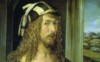 丢勒《1498年自画像》(油画)