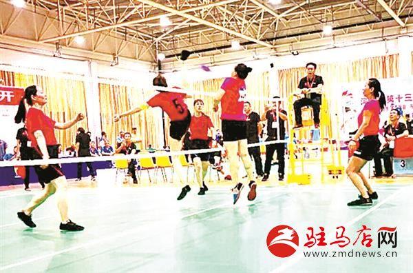 河南省第十三届运动会毽球比赛我市取得优异成绩