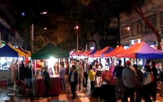 桂林市城管支队组织开展集中整治占道经营和夜市乱象
