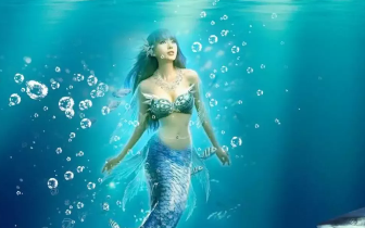 """什么情况?新两江四湖附近有""""美人鱼""""出没?!有人亲"""