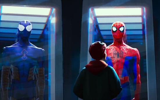 动画影片《蜘蛛侠:新纪元》以平行世界的另一位蜘蛛侠为主人公