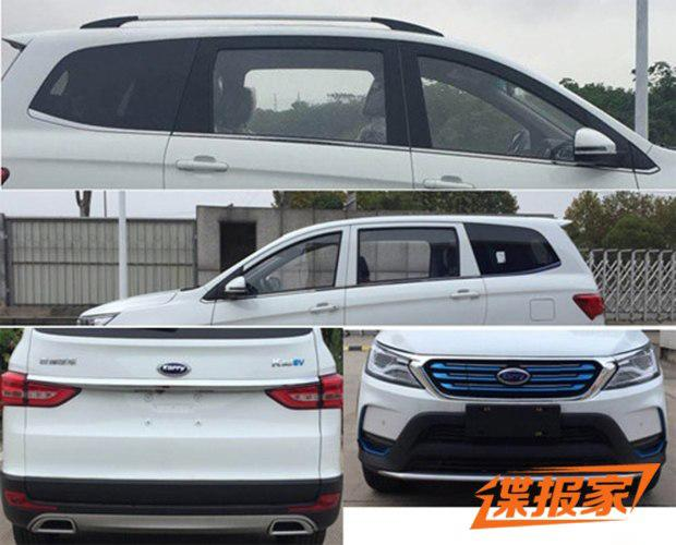 7座还紧凑级 开瑞K60EV电动车本月将上市
