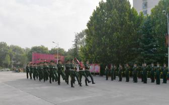 长治消防举行升旗仪式向建军91周年献礼