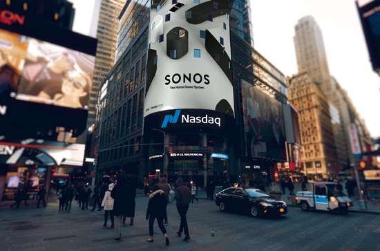 智能音箱制造商Sonos在美上市,首日大涨32%