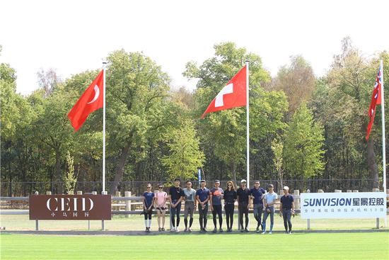 中马国际携20名中国骑手组队出征马术欧洲联赛