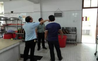 海南琼中县食药监局利用暑期指导学校食堂升级改造
