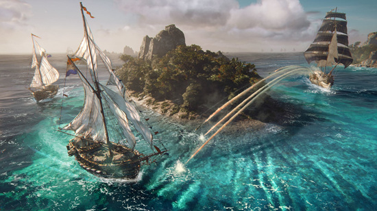 扬帆!起锚!育碧新感觉海战游戏《碧海黑帆》远征印度洋
