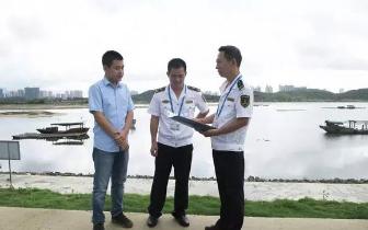 防城港渔万海事处加强水工现场核查工作!