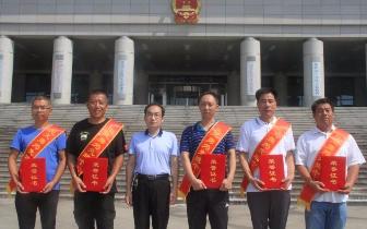 """这5人被评为""""丰南区见义勇为先进个人""""!"""