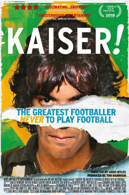凯撒的纪录片《从未踢过球的最伟大球员》