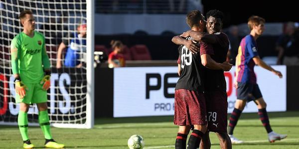 A席补时绝杀多纳鲁马神扑 米兰1-0巴萨
