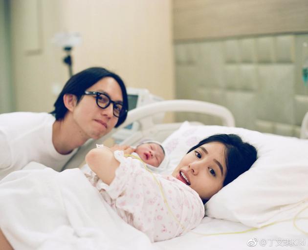 丁文琪当妈后首发文赞林宥嘉:一个100分的队友