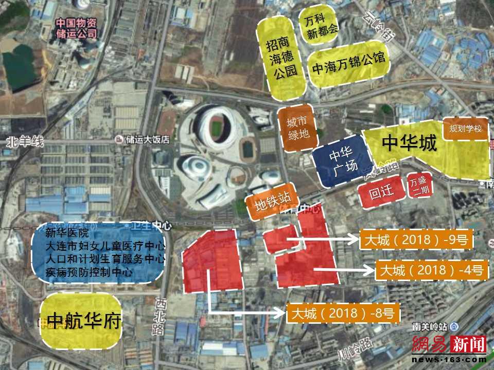 探地:解密大连体育新城31万平网红地块