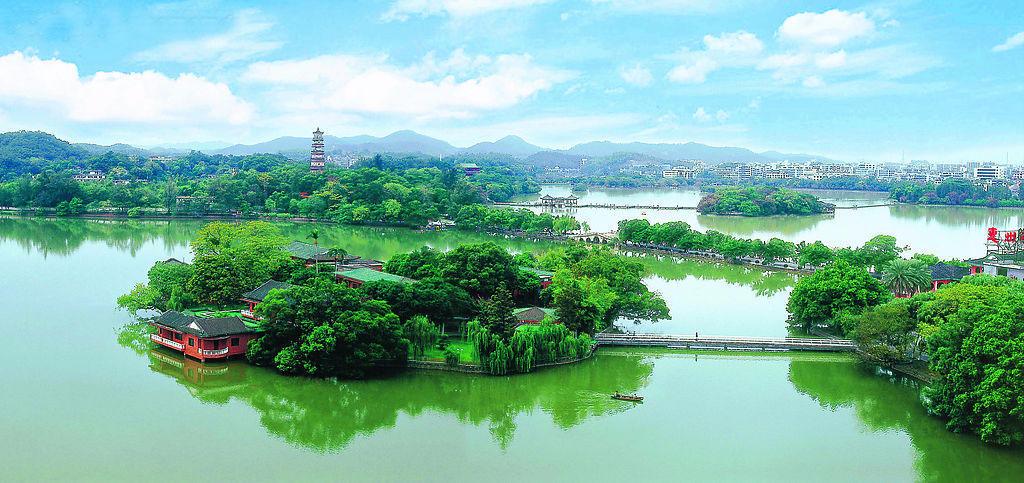 惠州西湖景区将新增22处景点!