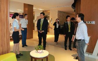 泰国BNH医院参访安琪儿   增进国际交流合作