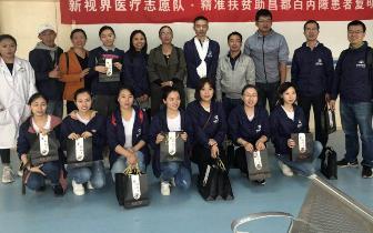 为200名藏族白内障患者免费手术 新视界医疗队圆满完成