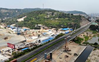 福泉高速连接线迈开解堵脚步 将升级为双向8车道