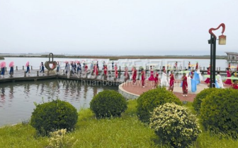 第二届唐山旅发大会项目观摩让与会嘉宾大饱眼福