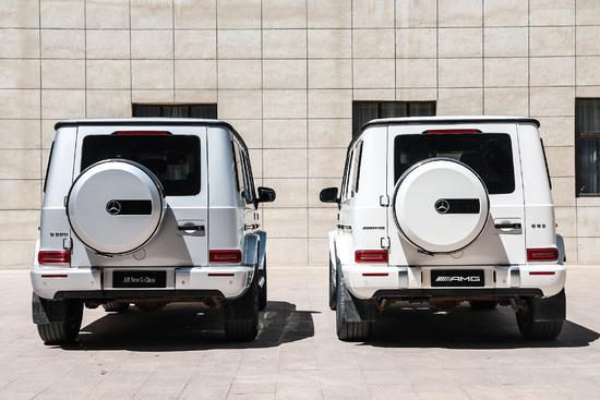 全新一代奔驰G 500与AMG G 63