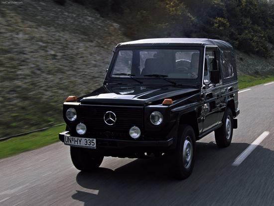 第一代奔驰G级诞生于1979年,代号W460