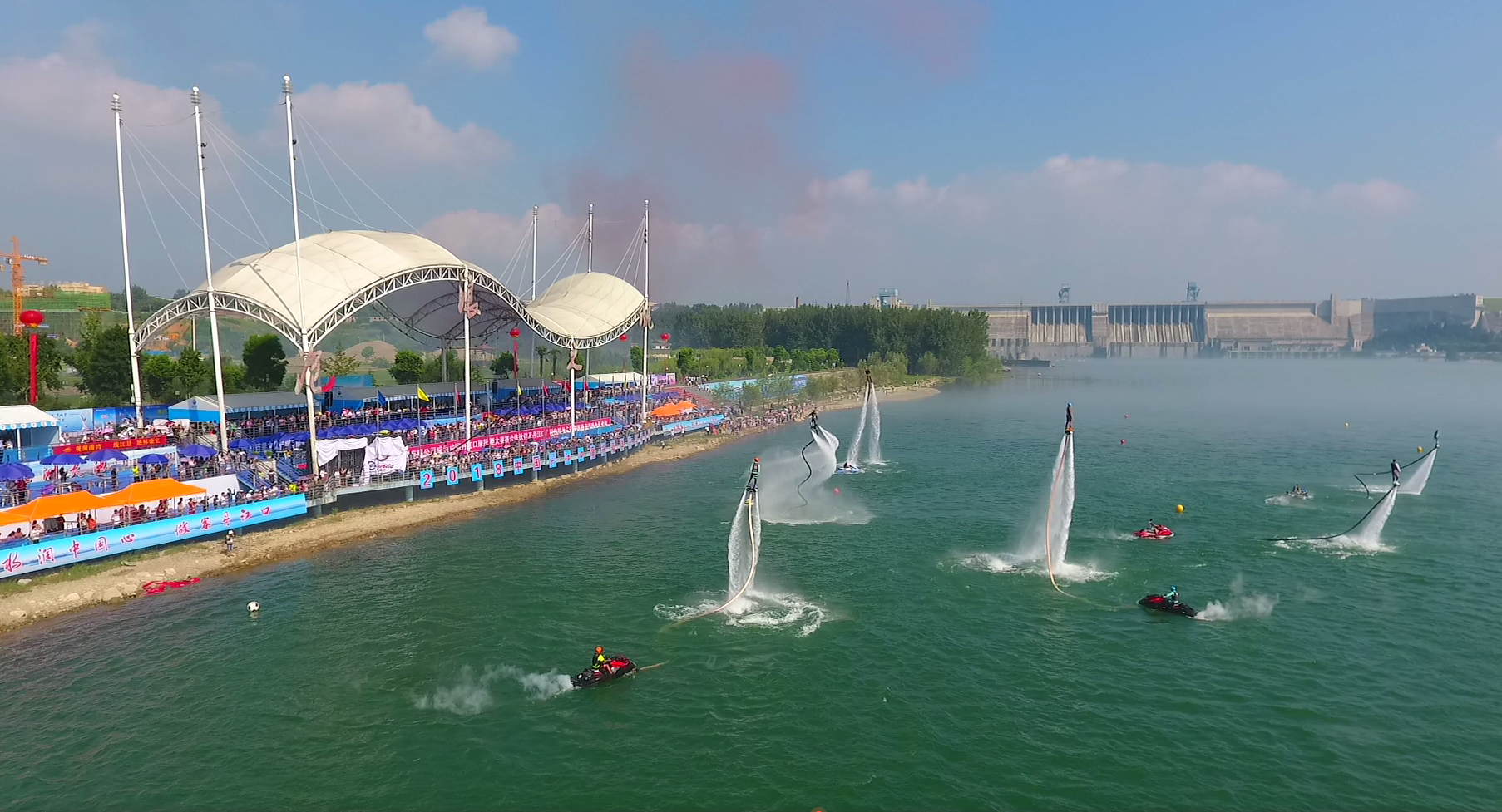 2018年中国丹江口摩托艇俱乐部大奖赛激情开赛