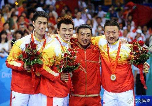 中国骄傲!北京奥运十年众将发文 刘国梁我心依旧 邹市明听国歌落泪