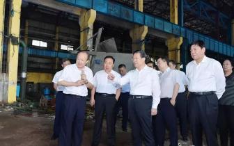省委书记、省人大常委会主任王东峰来唐调研检查